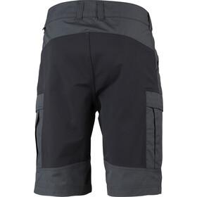Lundhags Vanner Pantalones cortos Hombre, charcoal/black